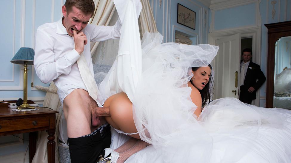 Big Butt Wedding Day