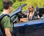 Hitching For A Dicking - Ava Austen - 1