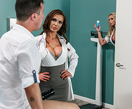 Dick Stuck In Fleshlight - Nikki Benz - Briana Banks - 1