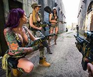 Cock Of Duty: A XXX Parody - Monique Alexander - Jasmine Jae - Stella Cox - 1