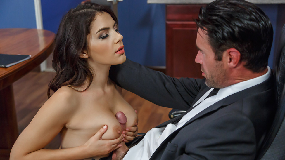 BigTitsAtWork / Brazzers – Valentina Nappi, Charles Dera Pushing Boundaries