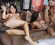 Ebony & Ivory, fucking in perfect harmony - Jada Fire - Ricki White - 5