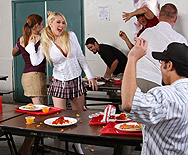 Food Fight! - Kagney Linn Karter - 1