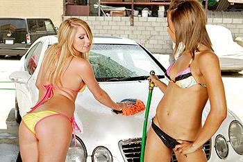 Splish-Splash I Am Cleaning Your Crack