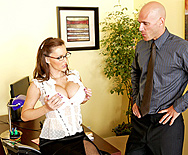 Sandwich my cock between your lips and eat it - Jenna Presley - 1