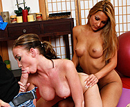 Yoga photoshoot injected with meat - Madison Scott - Cindy Hope - 2