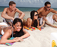 A Day Of Fun At The Beach - Kerry Louise - Asa Akira - 1