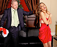 Jenna Haze Gets Cock for Christmas - Jenna Haze - 1