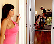 Don't Tell Mom The Babysitter's a Slut - Jennifer White - Lisa Ann - 1