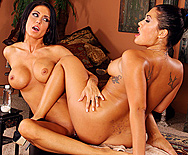 Masseuse Muff Munchers - Jessica Jaymes - London Keyes - 5