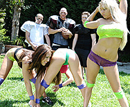 Suck On My Footballs - Kayla Paige - Capri Cavanni - 1