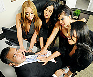 Office 4-Play II: Asian Sensation - Asa Akira - Katsuni - London Keyes - Mia Lelani - 1