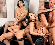 Office 4-Play II: Asian Sensation - Asa Akira - Katsuni - London Keyes - Mia Lelani - 3