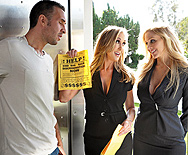 Door to Door Whores - Julia Ann - Brandi Love - 1