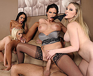 Office 4-Play III - Angelina Valentine - Phoenix Marie - Kagney Linn Karter - Alexis Ford - 3