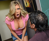 Distracting Double D's - Samantha Saint - 1