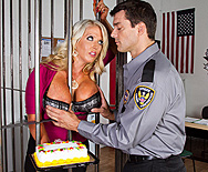 Big Boobs Behind Bars - Alura Jenson - 1