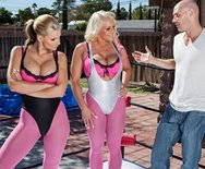 Greasy Grip Training - Phoenix Marie - Sadie Swede - 1