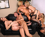 Office 4-Play: Christmas Edition! - Chanel Preston - Krissy Lynn - Nicole Aniston - Tanya Tate - 2