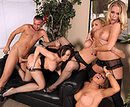 Office 4-Play: Christmas Edition! - Chanel Preston - Krissy Lynn - Nicole Aniston - Tanya Tate - 3