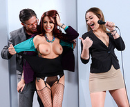 The Whore of Wall Street Ep-2: The Anal Office Queen - Monique Alexander - 1