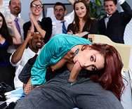The Whore of Wall Street Ep-2: The Anal Office Queen - Monique Alexander - 2