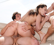 The Whore of Wall Street Ep-4: Double Teamed On The High Seas - Dani Daniels - 4