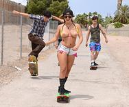 Boardwalk Boarding Boobies - Keisha Grey - 2