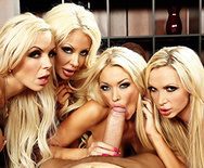 Office 4-play VI - Courtney Taylor - Nikki Benz - Nina Elle - Summer Brielle - 2