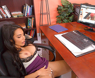 Under The Desk - Lela Star - 1