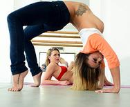 Stretching Them Out - Keisha Grey - Mia Malkova - 1