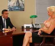 Dreamy Office Tits - Rhylee Richards - 2