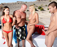Fucking on the Open Water: Part Three - Juelz Ventura - Vanessa Cage - 1
