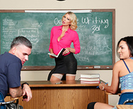 Teaching Miss Darby a Hard Lesson - Leigh Darby - 1