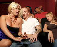 Sneaky MILF Sucks In The Theater - Alura Jenson - 2