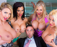 Office 4-Play VIII: UK Edition - Jasmine Jae - Leigh Darby - Rebecca Moore - Tia Layne - 2