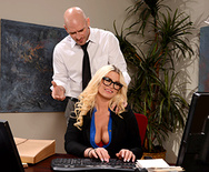 On The Cock While On The Clock - Julie Cash - 1