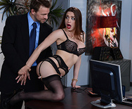 Secretary Stockings - Veronica Vain - 1