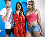 Room, Board and Bang - Melissa May - Romi Rain - 1
