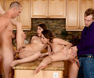Dinner For Sluts - Riley Reid - Melissa Moore - 4