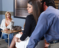 Nailing Ms. Chase: Part Two - Brooklyn Chase - Alexis Fawx - 1