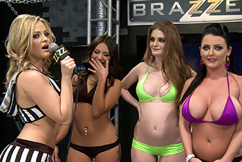 BRAZZERS LIVE 21: NO HOLES BARRED